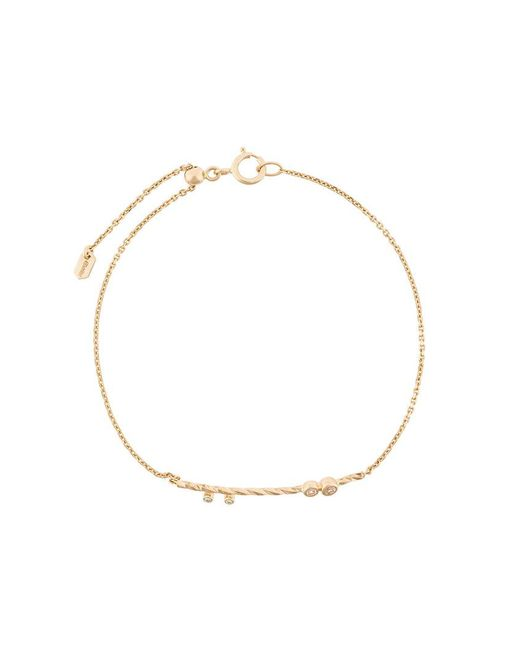 Maria Black - Metallic Diamond Cut Jean Bracelet - Lyst