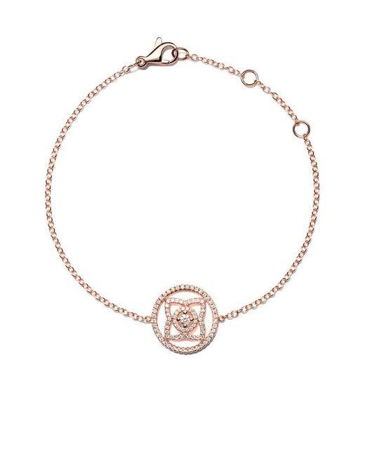 De Beers - Multicolor 18kt Rose Gold Enchanted Lotus Openwork Diamond Bracelet - Lyst