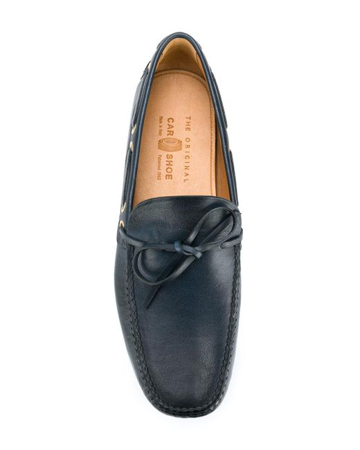 classic loafers - Blue Car Shoe