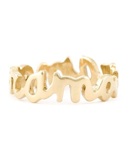 Wouters & Hendrix - Metallic 'amour' Ring - Lyst