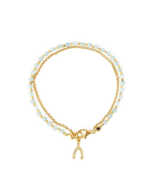 Astley Clarke | Metallic 'wishbone Biography' Bracelet | Lyst