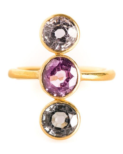 Marie-hélène De Taillac - Metallic 'goddess' Ring - Lyst
