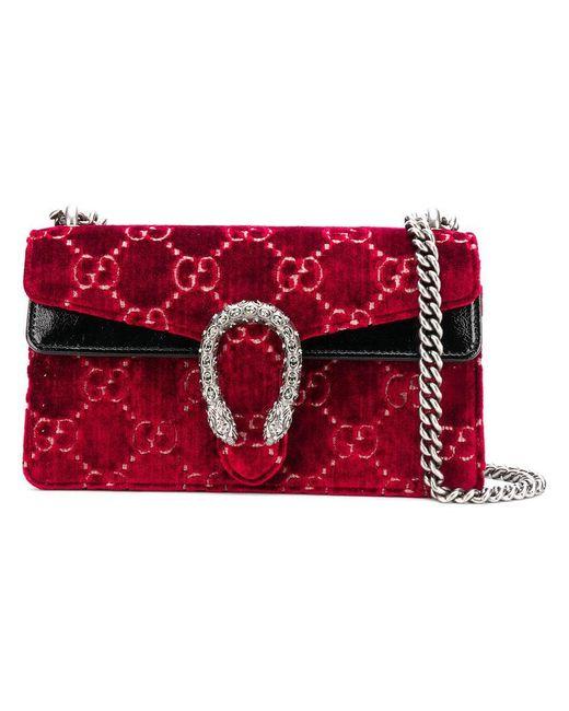 55ba8ec746a Gucci - Red Dionysus GG Supreme Bag - Lyst ...