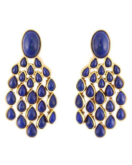 Aurelie Bidermann - Blue 'cherokee' Earrings - Lyst
