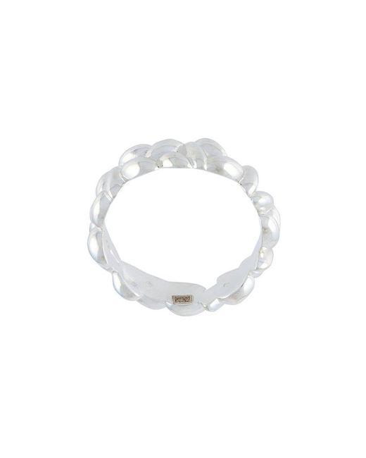 Bea Bongiasca - Metallic Rice Grain Cluster Thin Ring - Lyst