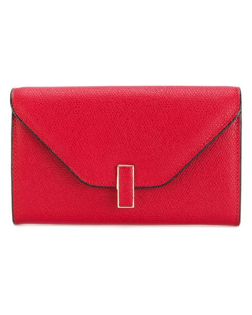 Valextra - Red Rectangle Envelope Purse - Lyst