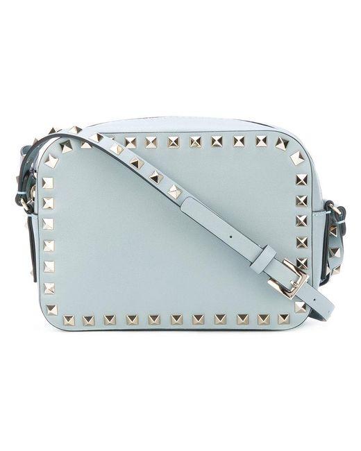 Valentino | Blue Garavani Rockstud Crossbody Bag | Lyst
