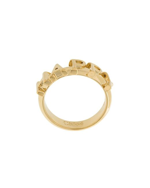 Chloé - Metallic Happy Ring - Lyst