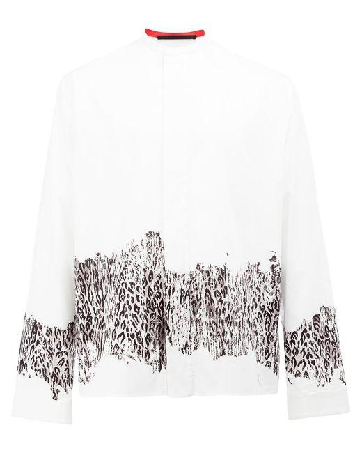 Haider Ackermann - White Leopard Print Shirt for Men - Lyst