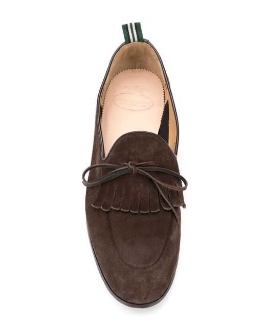 8577701a5b216 ... Green George - Brown Lace Up Loafers for Men - Lyst