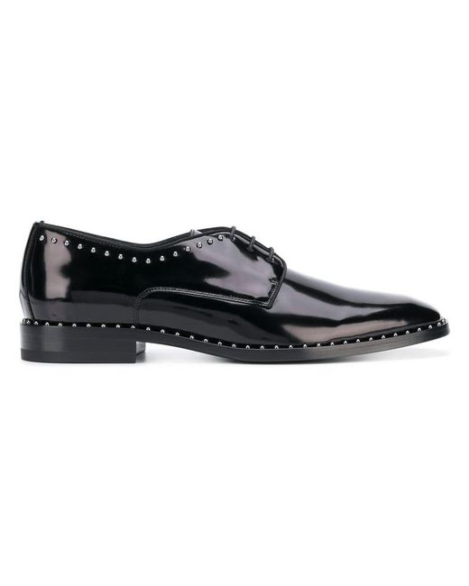 Jimmy Choo - Black 'Stefan' Schnürschuhe for Men - Lyst