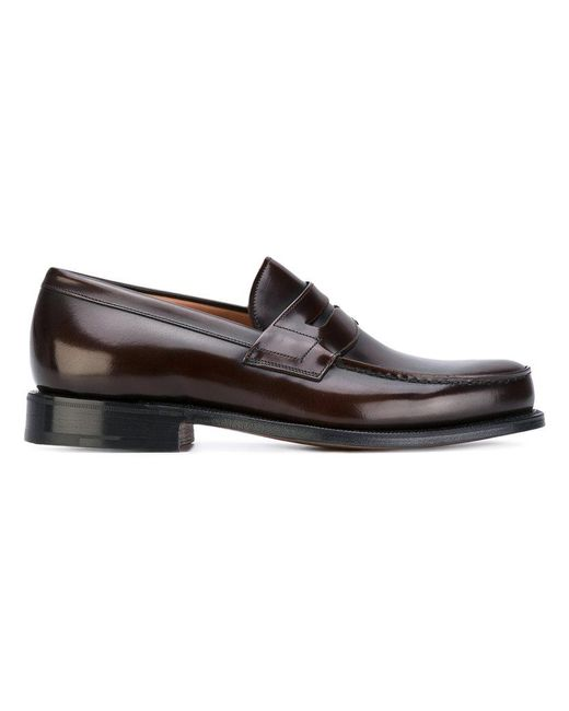 b25e91243a9 Church s - Brown Wesley Penny Loafers for Men - Lyst ...