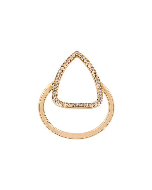 Diane Kordas - Metallic Gemstone Embellished Ring - Lyst