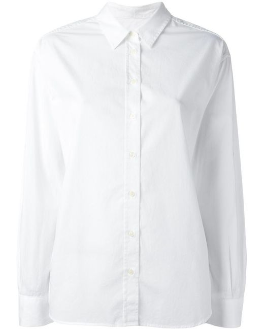 Closed - White Classic Shirt for Men - Lyst