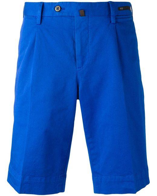 PT01 | Blue Bermuda Shorts for Men | Lyst