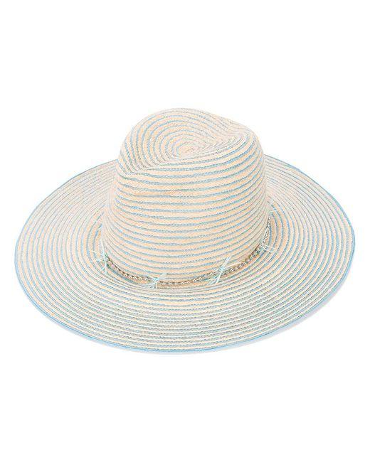 Gigi Burris Millinery | Natural Striped Hat | Lyst