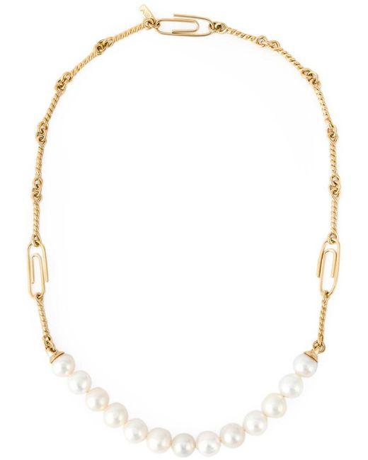 Aurelie Bidermann | Metallic 'cheyne Walk' Necklace | Lyst
