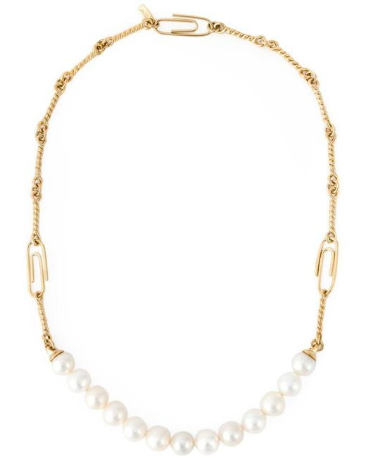 Aurelie Bidermann - Metallic 'cheyne Walk' Necklace - Lyst
