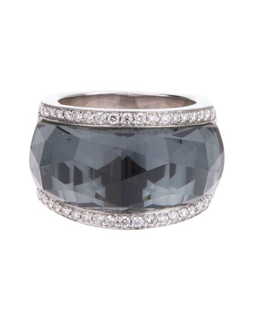 Stephen Webster - Black 'classic Crystal Haze' Ring - Lyst