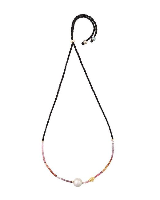 Lizzie Fortunato - Multicolor Simple Pearl Necklace - Lyst