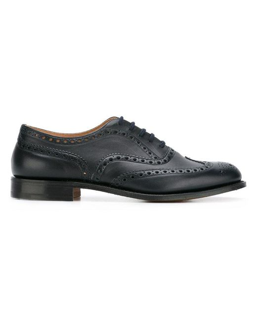 Church's - Blue Burwood Brogues for Men - Lyst