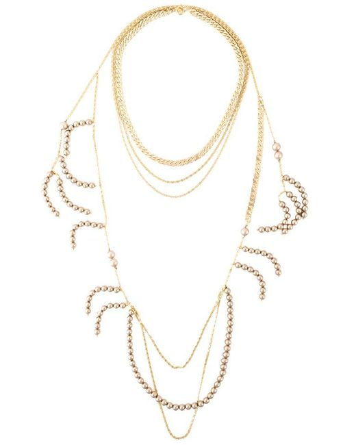 Wouters & Hendrix | Metallic 'holiday' Necklace | Lyst