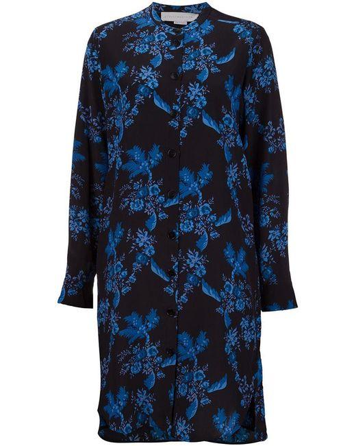 Stella McCartney   Black 'bianca' Buttoned Dress   Lyst