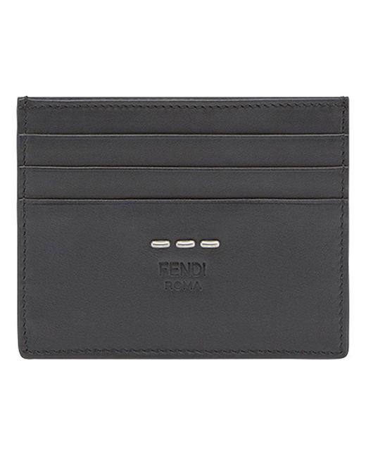 e70049a37a58 Fendi - Black Selleria Cardholder for Men - Lyst ...