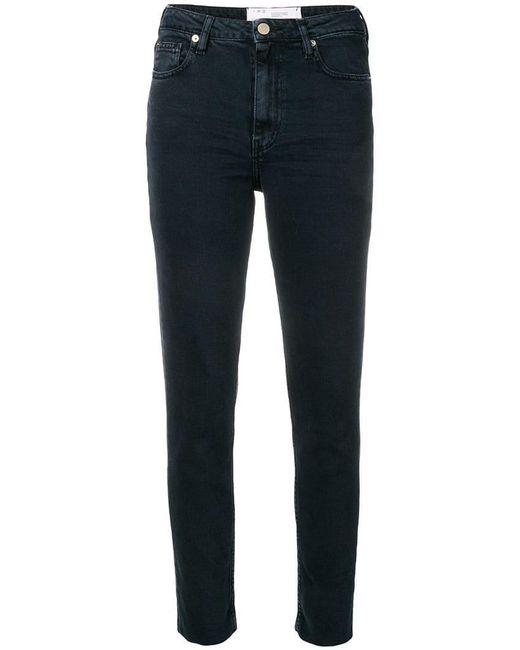 IRO - Blue Skinny Jeans - Lyst