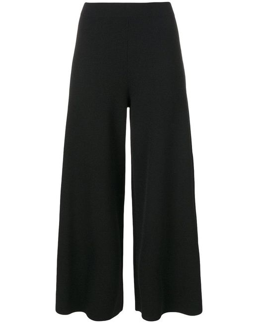 Theory - Black Thaniva Crepe Skinny Pants - Lyst