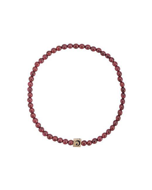 Luis Morais - Brown Cube Charm Bracelet - Lyst
