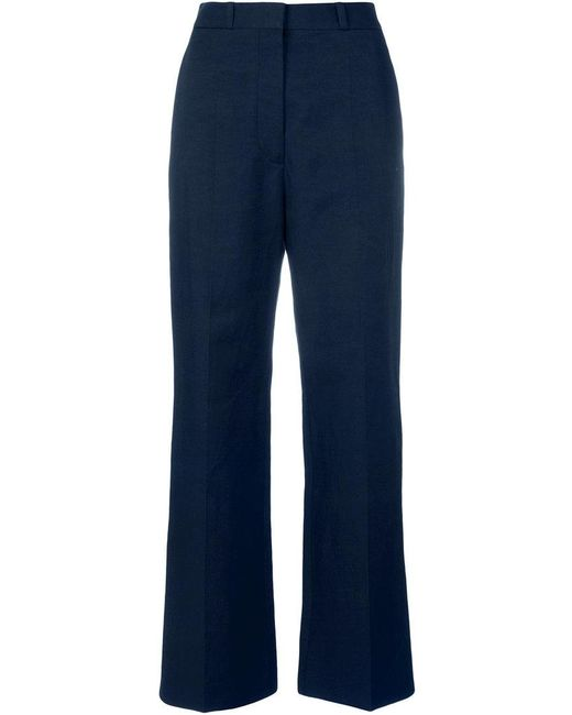 loose trousers - Blue Stella McCartney Cheap Sale Explore Outlet With Mastercard Best Prices Cheap Online Free Shipping Best Clearance Visit oeaSeuaN