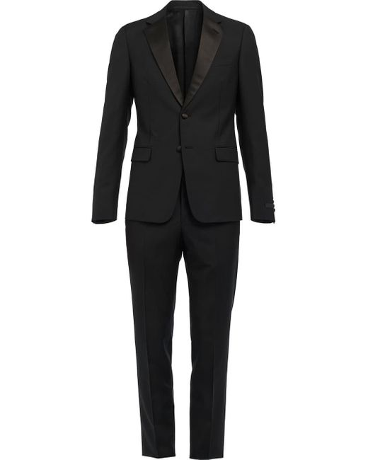 Prada Black Single-breasted Tuxedo for men
