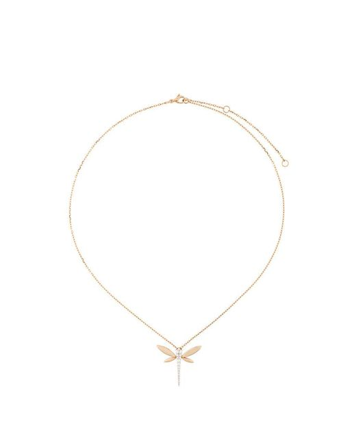 Anapsara - Multicolor Dragonfly Pendant Necklace - Lyst