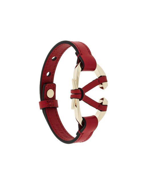 Valentino - Red Garavani V Bracelet - Lyst
