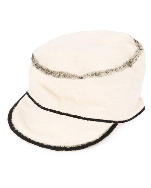 Toogood - White The Carpen Hat for Men - Lyst