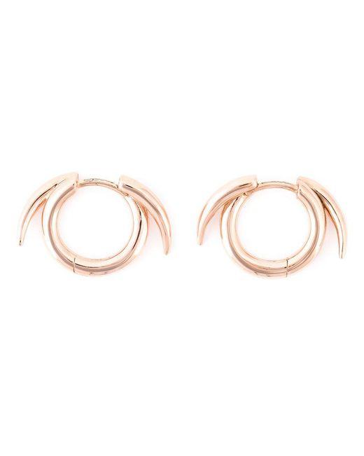 Shaun Leane | Pink Thorned Hoop Earrings | Lyst