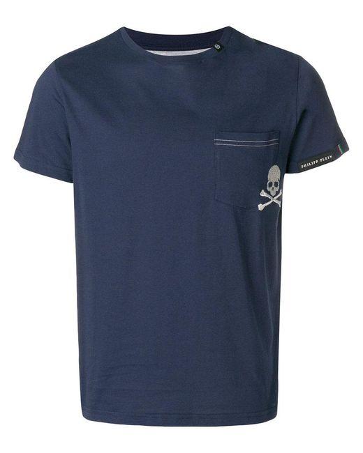 Philipp Plein - Blue Trouble T-shirt for Men - Lyst