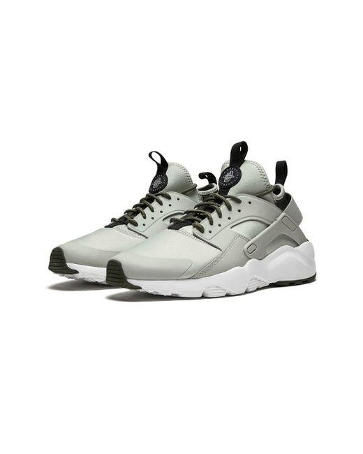 ac08537eadfb ... Nike - Gray Air Huarache Run Ultra Sneakers for Men - Lyst ...