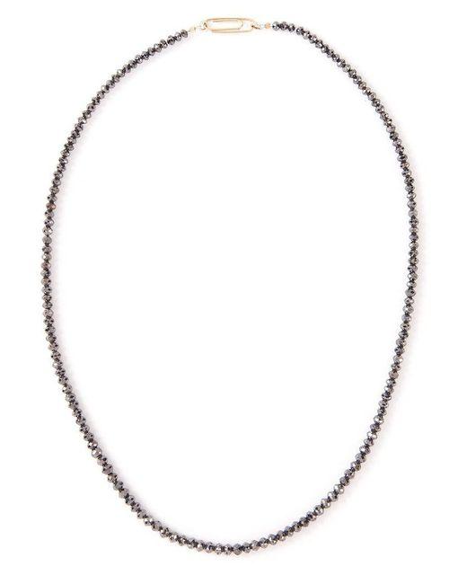 Uzerai Edits - Black Diamond Princess Necklace - Lyst