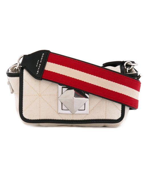 Sonia Rykiel - White Le Copain Shoulder Bag - Lyst