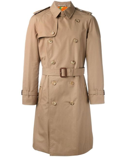 Gucci | Natural Embroidered Tiger Trench Coat for Men | Lyst