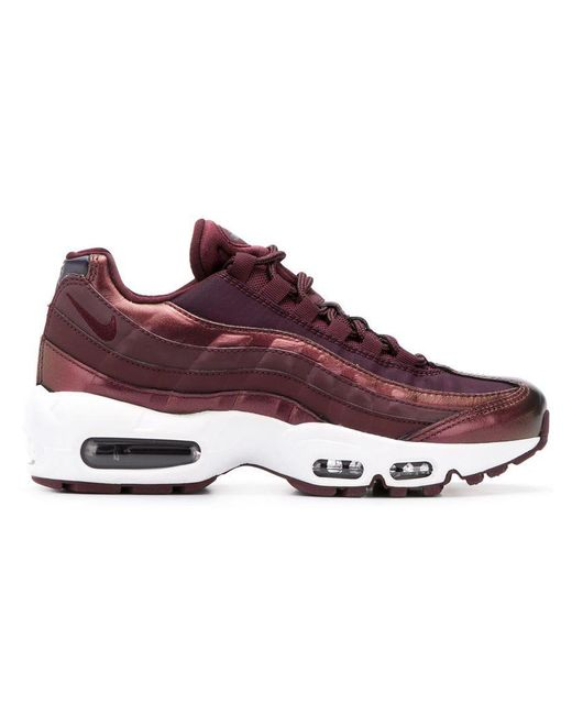 2e933ab239 ... Nike - Purple Air Max 95 Lux Sneakers - Lyst .