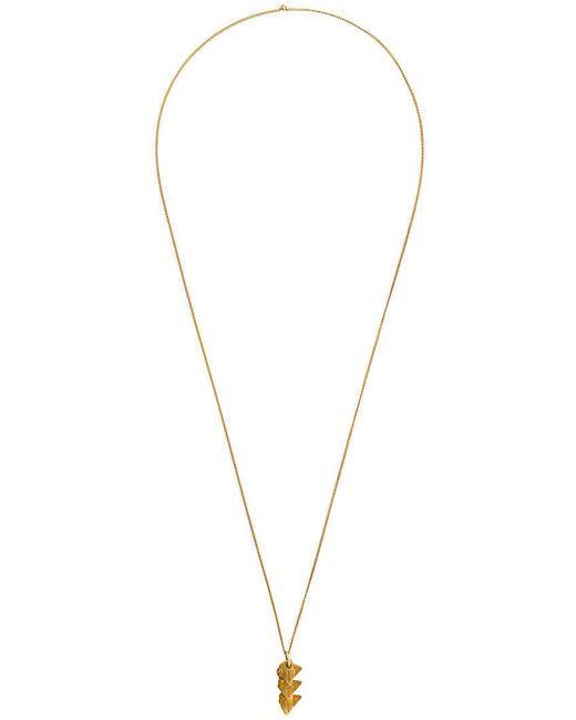 Imogen Belfield - Metallic 'triple Star' Necklace - Lyst