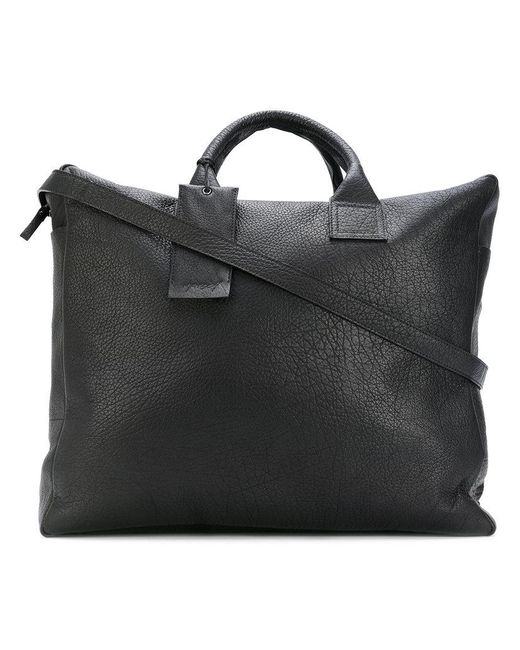 Marsèll   Black Tag Detail Structured Luggage   Lyst