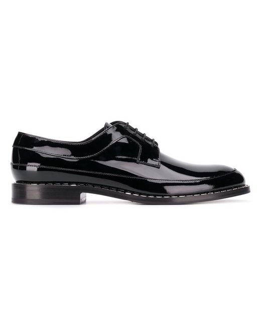 Jimmy Choo - Black 'Beni' Derby-Schuhe for Men - Lyst