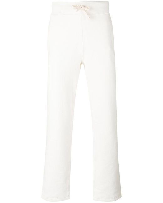Polo Ralph Lauren | White Embroidered Logo Sweatpants for Men | Lyst
