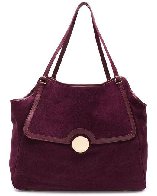 L'Autre Chose - Pink Foldover Top Tote Bag - Lyst