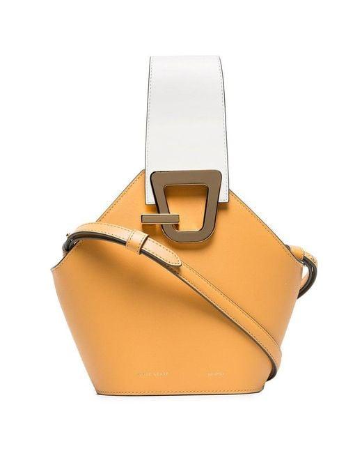 f3d6d54373b8 Danse Lente - Natural Camel Johnny Mini Leather Bucket Bag - Lyst ...