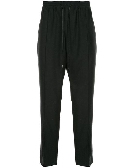 Juun.J - Black Classic Track Trousers for Men - Lyst
